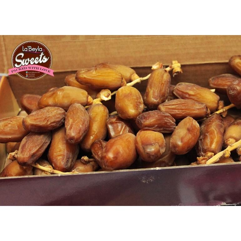 KURMA DEGLET NOOR TUNISIA PREMIUM - BERTANGKAI (BOX 400GM)