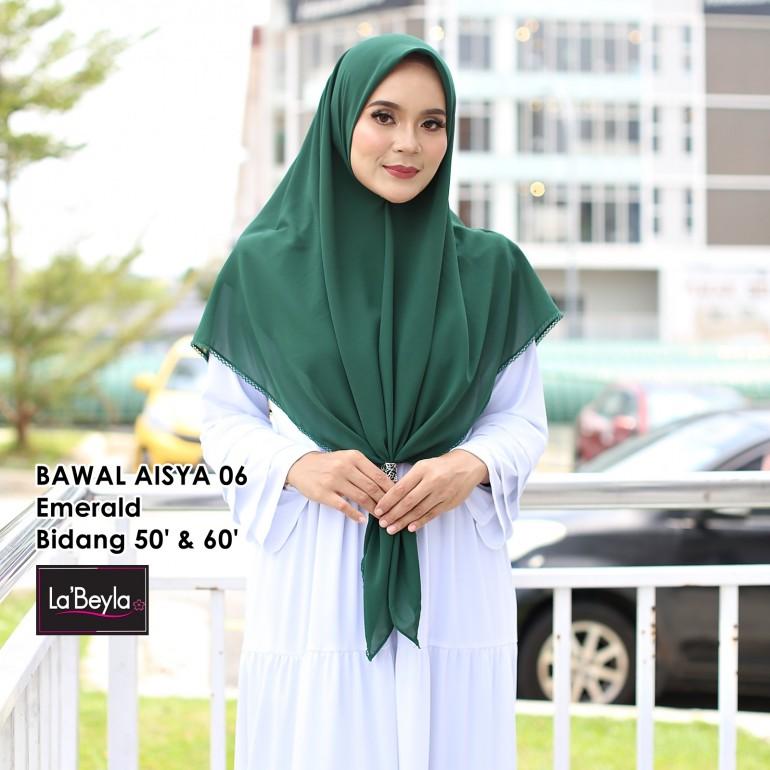 BAWAL SULAM  AISYA 06- Emerald