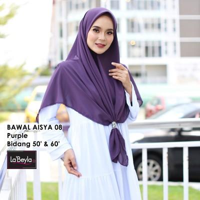 BAWAL SULAM  AISYA 08- Purple