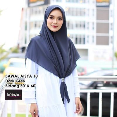 BAWAL SULAM  AISYA 10 - Dark Grey