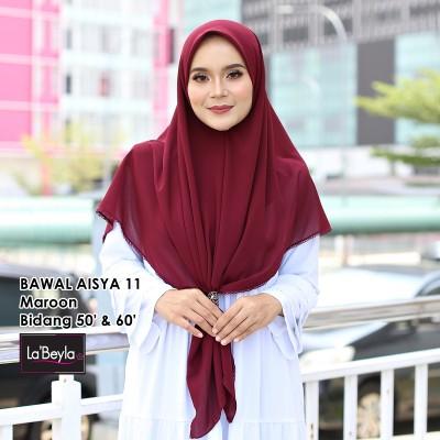 BAWAL SULAM  AISYA 11 - Maroon