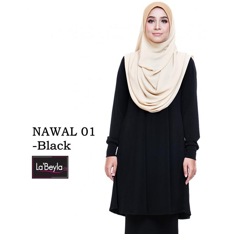NAWAL 01 (Blouse) - Black