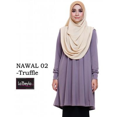 NAWAL 02 (Blouse) - Truffle