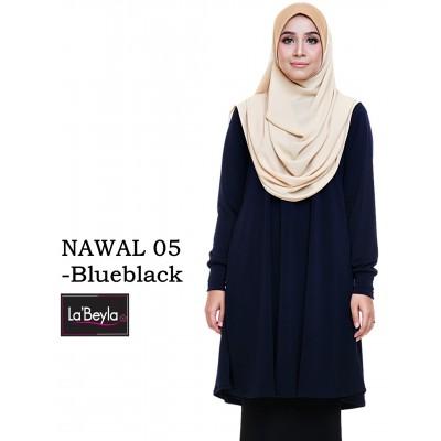 NAWAL 05 (Blouse) - Blueblack