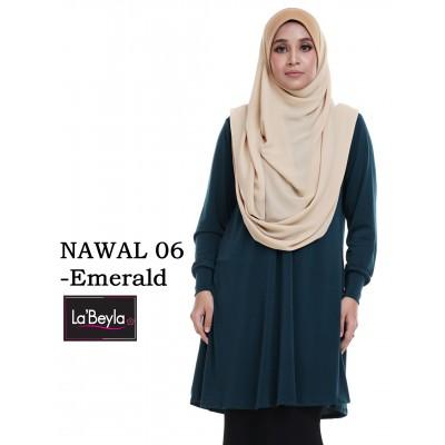 NAWAL 06 (Blouse) - Emerald