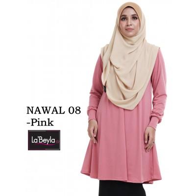 NAWAL 08 (Blouse) - Pink