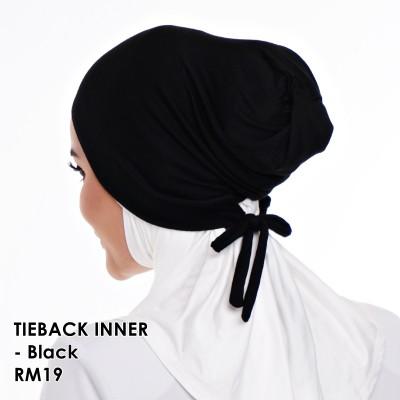 INNER TIE BACK CLASSICA 01- Black