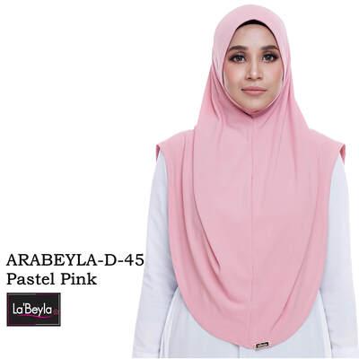Arabeyla D-45-Pastel Pink (Berdagu)