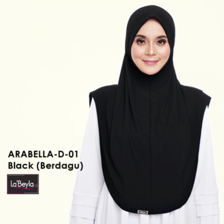 Arabeyla D-01-Black (Berdagu)