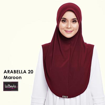 Arabeyla 20 - Maroon