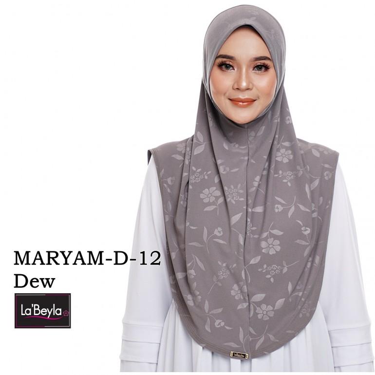 MARYAM D-12- Dew (Berdagu)