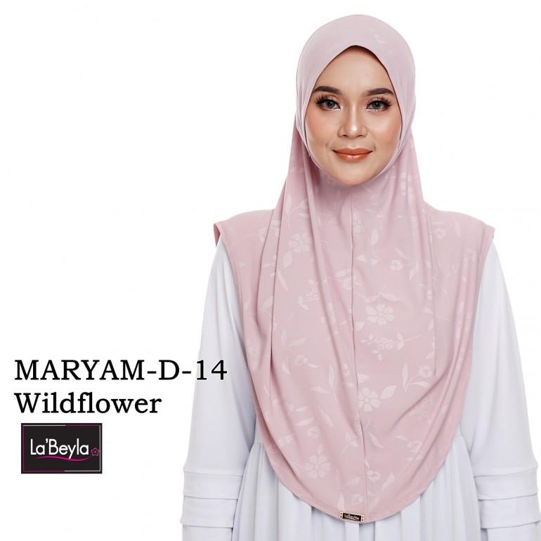 MARYAM D-14- Wildflower (Berdagu)