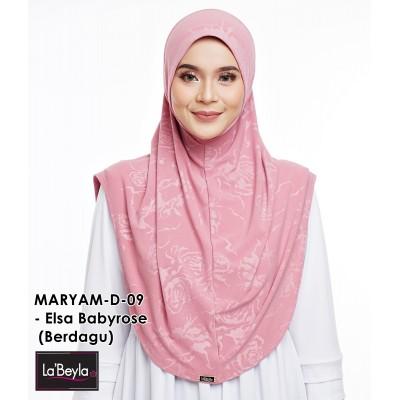 MARYAM D-09- Elsa Babyrose (Berdagu)