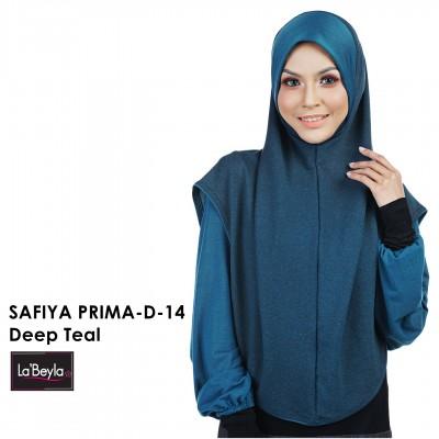 SAFIYA PRIMA D-14-Deep Teal (Berdagu)