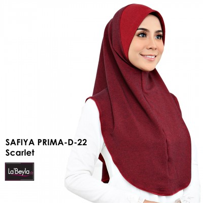 SAFIYA PRIMA D-22-Scarlet (Berdagu)