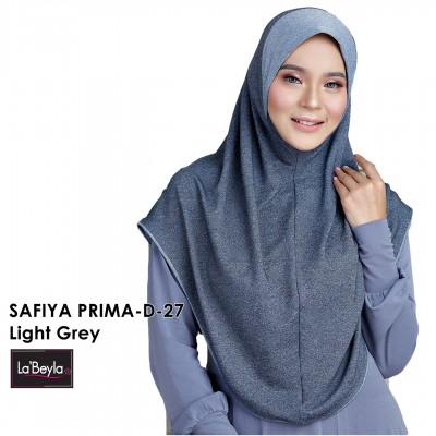 SAFIYA PRIMA D-27-Light Grey (Berdagu)