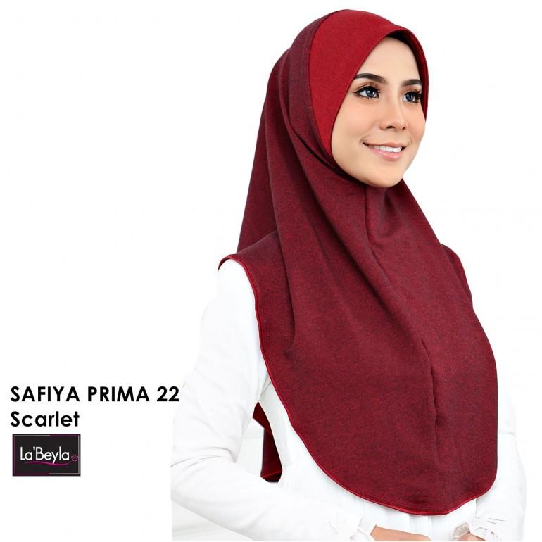 SAFIYA PRIMA 22 - SCARLET