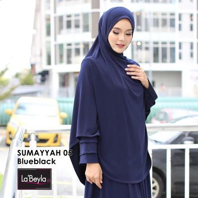 SUMAYYAH 05 - Blueblack (Berdagu)