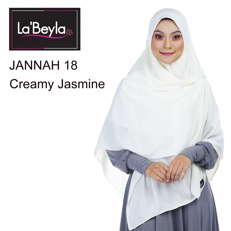 JANNAH 18 - CREAMY JASMIN