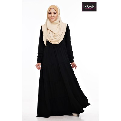 NAWRA 01 - Black (jubah only)