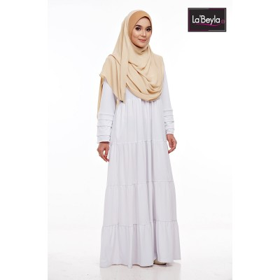 NAWRA 02 - White (Jubah Only)