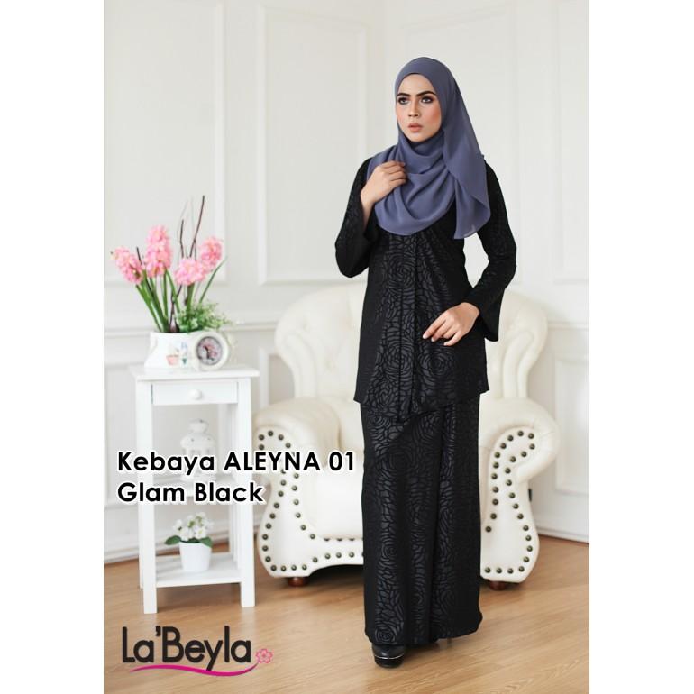 Kebaya Aleyna 01 - Glam Black