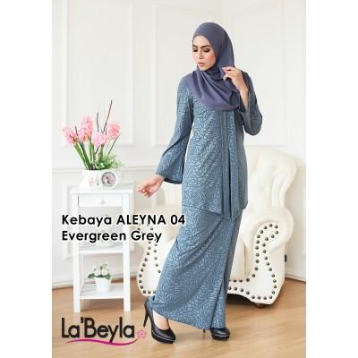 Kebaya Aleyna 04 - Evergreen Grey
