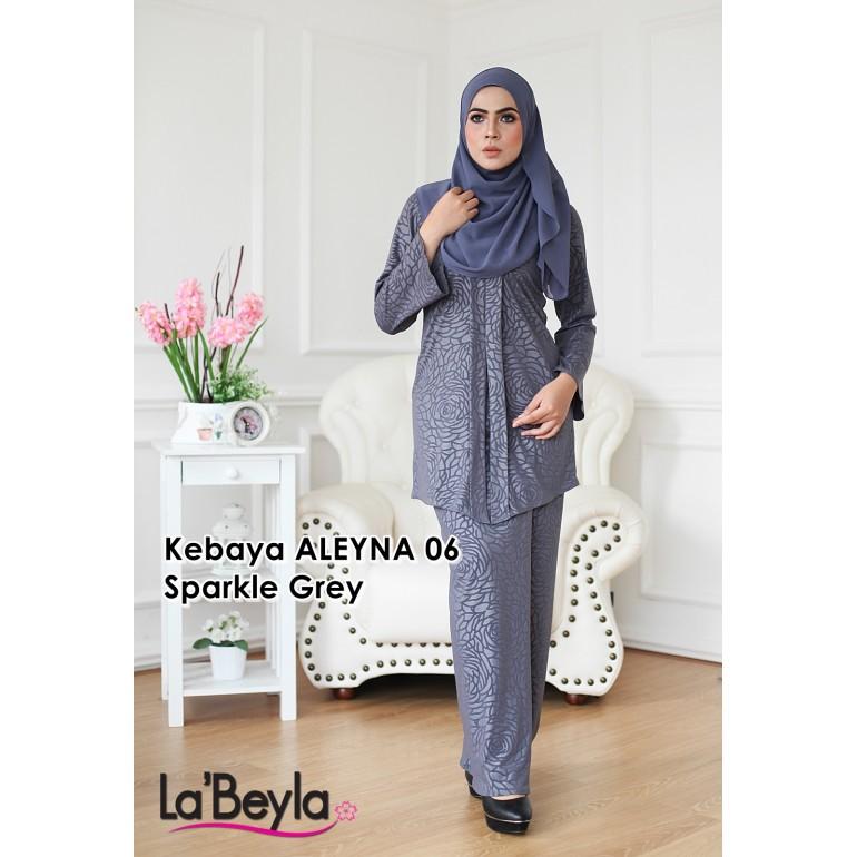 Kebaya Aleyna 06 - Sparkle Grey