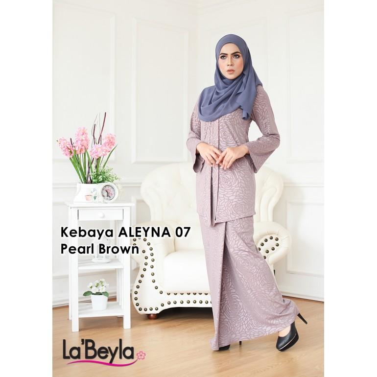 Kebaya Aleyna 07 - Pearl Brown