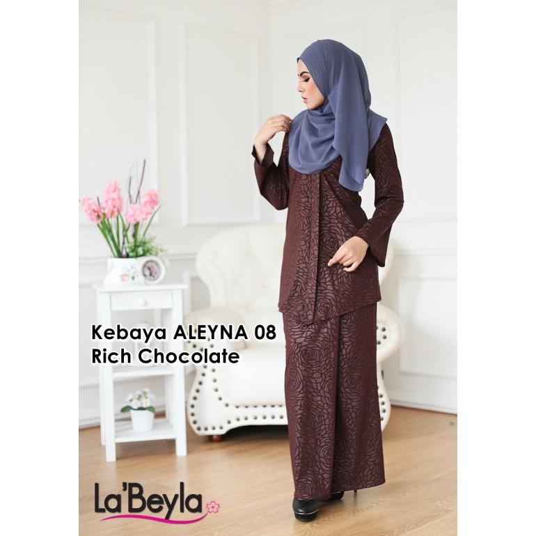 Kebaya Aleyna 08 - Rich Chocolate