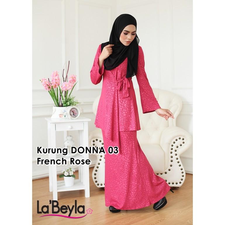 Kurung Donna 03 - French Rose