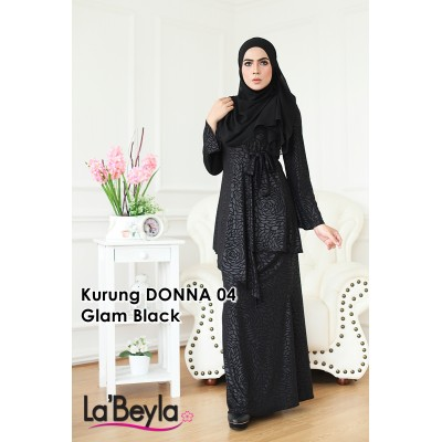 Kurung Donna 04 - Glam Black