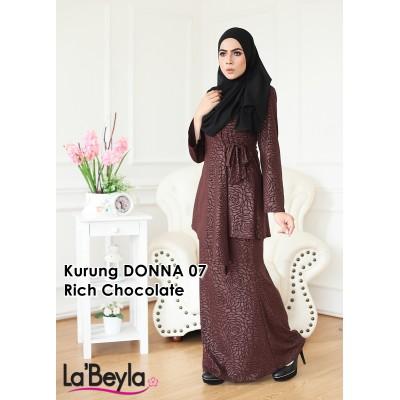 Kurung Donna 07 - Rich Chocolate
