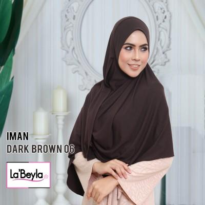 IMAN 06 - DARK BROWN