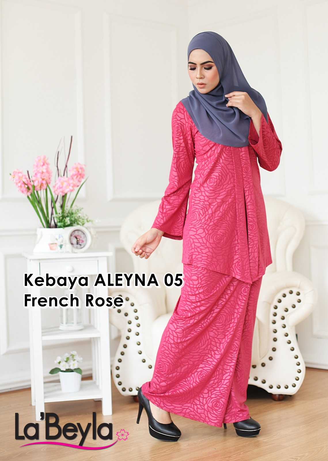 Kebaya Aleyna 05 - French Rose
