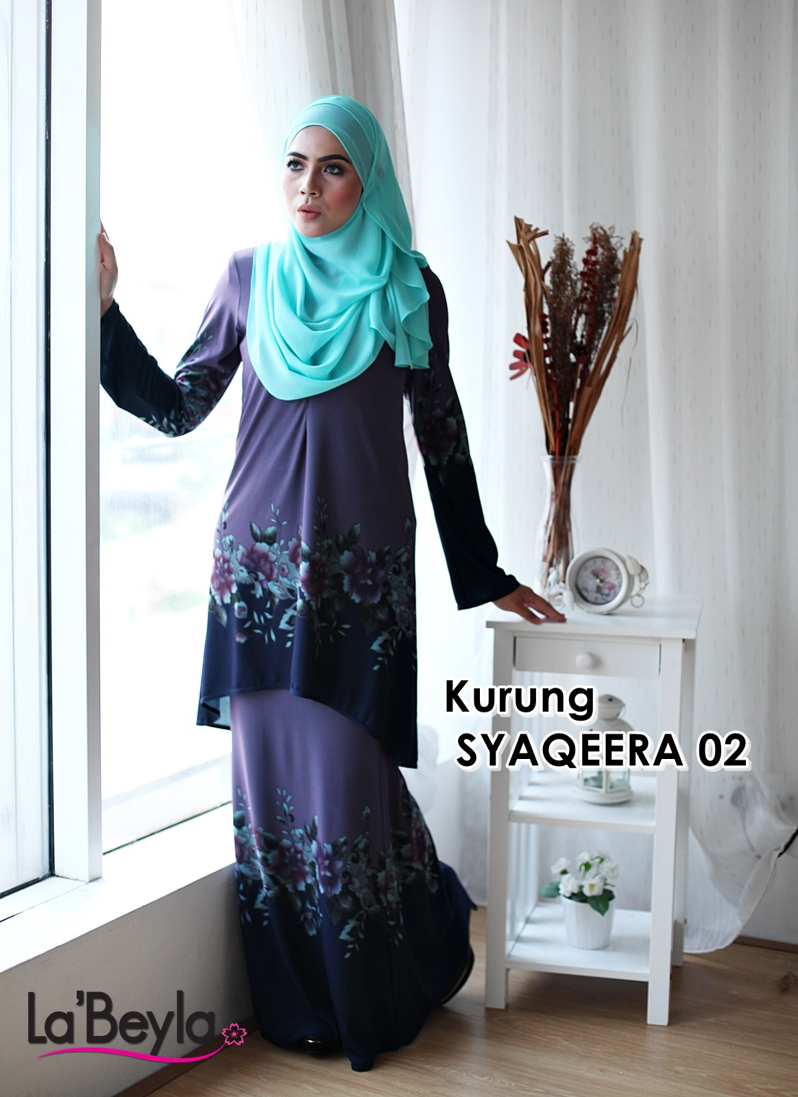 Kurung Syaqeera 02 - Royal Midnight